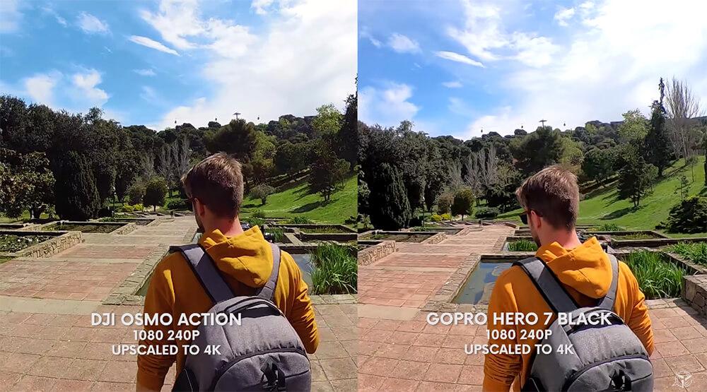 GoPro hero 7 black กับ DJI OSMO Action