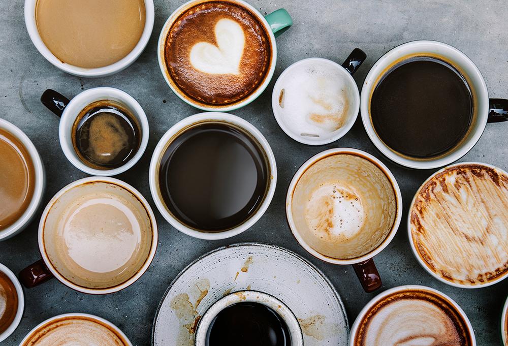 7 ไอเดียในการถ่ายภาพกาแฟ