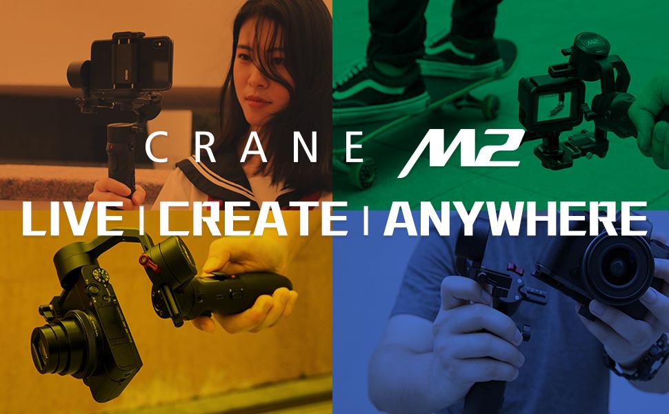 พรีวิว Zhiyun Crane M2
