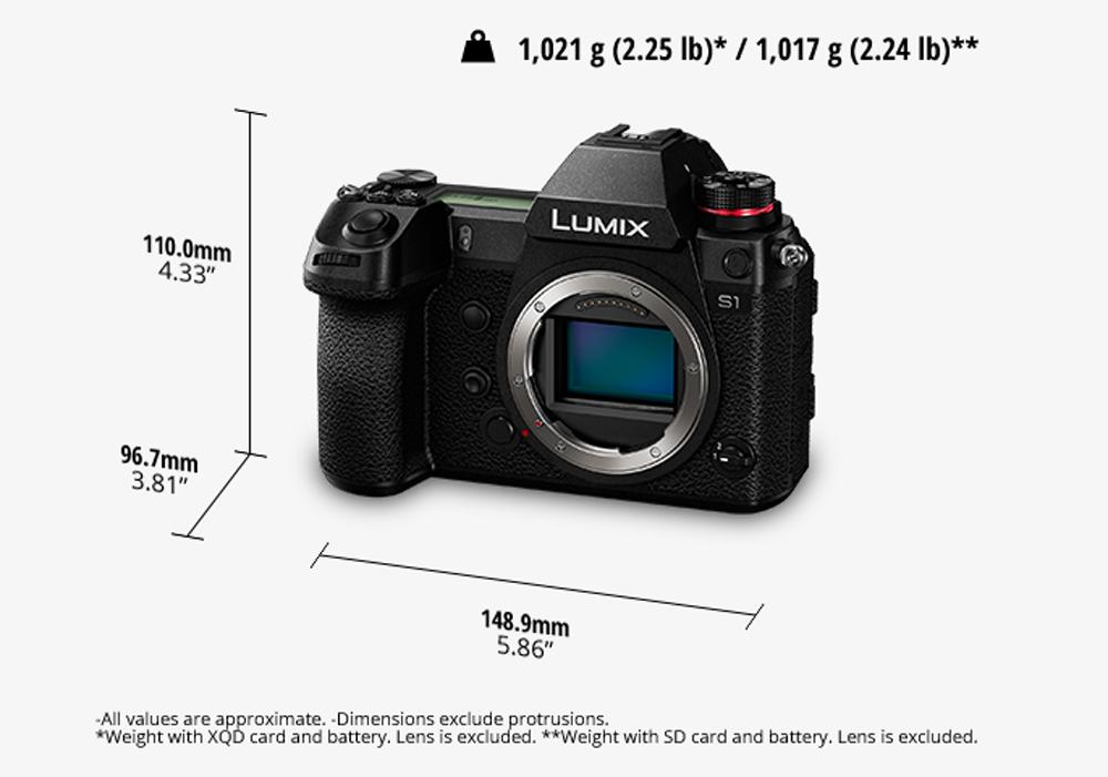 พรีวิว Panasonic LUMIX S1 กล้อง Full-Frame Mirrorless ที่มาพร้อม คุณสมบัติขั้นสูงสำหรับภาพนิ่งและวิดีโอ ทนทาน แข็งแกร่ง ลุยได้ทุกสภาวะการณ์