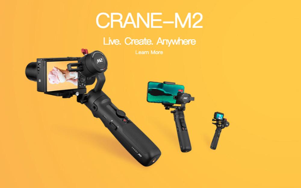 DJI Ronin SC vs Zhiyun Crane M2 เลือกรุ่นไหนดีถึงจะเหมาะกับมือใหม่