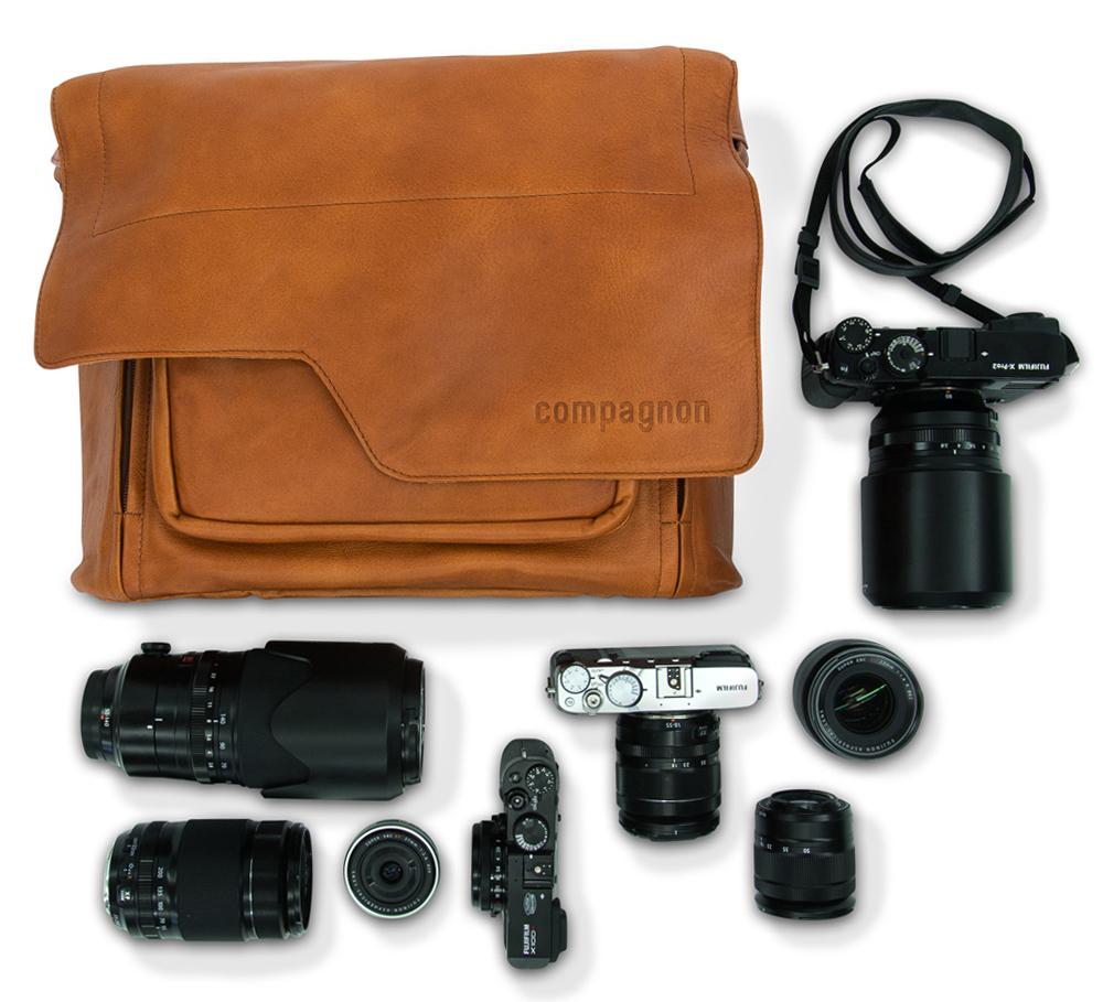 รีวิว Compagnon the messenger กระเป๋ากล้อง Messegner หนังแท้จากเยอรมัน