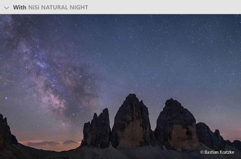 7 จุดเด่น NISI Natural Night Filter