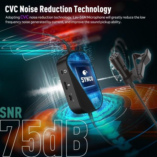 พรีวิว SYNCO MIC – S6M ไมโครโฟนแบบ Lavalier สำหรับ Vlogger และ Youtuber