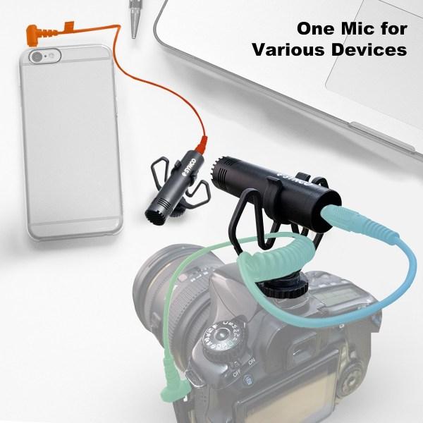 5 ข้อดีของ Synco Mic M1 สำหรับมือใหม่ที่เริ่มต้นหัดถ่าย VDO และบันทึกเสียง