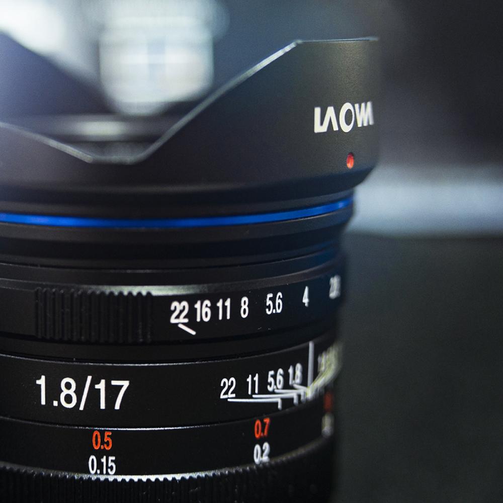 LAOWA 17mm f//1,8 f�r MFT