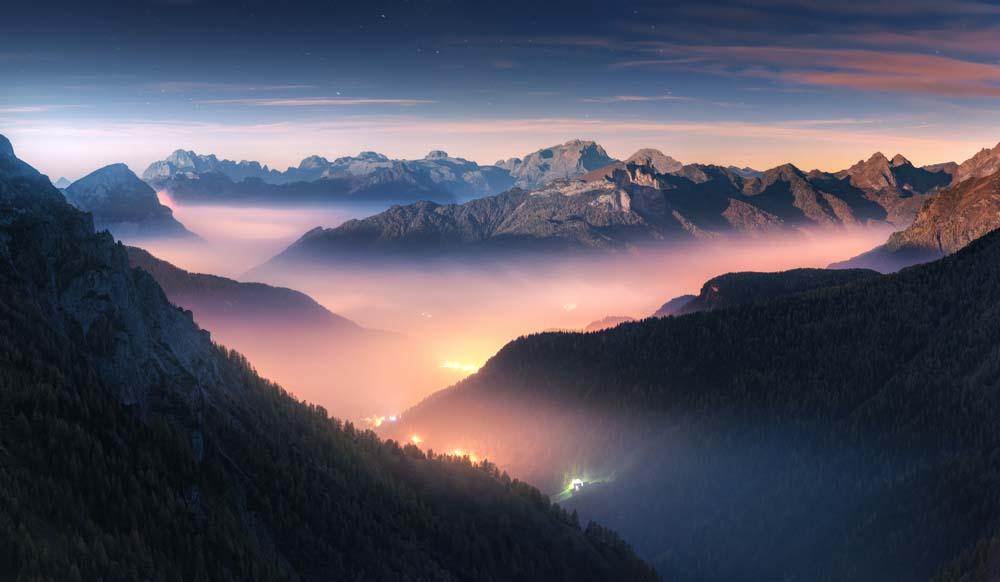 7 เทคนิคการถ่ายภาพภูเขา สายหมอกให้ดึงดูดสายตา กระตุ้นความสนใจ