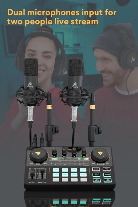 7 เหตุผลที่ควรใช้ MAONOCASTER Lite AU-AM200 มิกเซอร์สำหรับ Live Stream เพื่อให้คุณภาพเสียงดีขึ้น