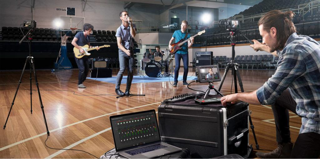 พรีวิว Blackmagic ATEM Mini Pro ISO บันทึก วิดีโอ พร้อมกันสูงสุด 5 ไฟล์แยกเพื่องาน live, Broadcast มืออาชีพ