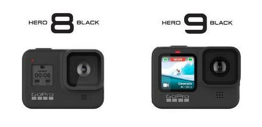 เปรียบเทียบ GoPro Hero Black 9 vs GoPro Hero Black 8 ต่างกันอย่างไร มีอะไรเปลี่ยนไปบ้าง